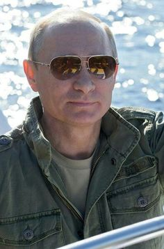 President Vladimir Putin-- where have all the good men gone,, that this man…