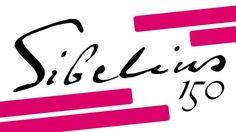 Yle Radio 1:n Sibelius150-sarjan logo. Sibelius 150 years, Finland