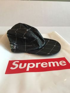 Supreme Lacoste Hat Black 3m SS18 - Brand New and Never Worn  fashion   clothing 2ca78fdbbc28