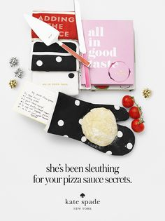 featuring the le pavillion 3 pack, adding the sauce towel, 2 piece dessert set, confetti card, all in good taste book, and bella pantry recipe book. #getgifted