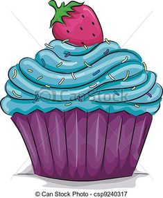 Cupcake Illustrations and Clipart. Cupcake royalty free illustrations, and drawings available to search from thousands of stock vector EPS clip art graphic designers. Cupcake Illustration, Illustration Art, Illustrations, Cupcake Kunst, Cupcake Art, Cupcake Pictures, Cupcake Images, Cupcake Clipart, Cupcakes Wallpaper