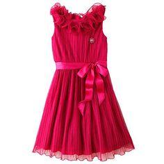 My Michelle Ruffle Dress - Girls 7-16
