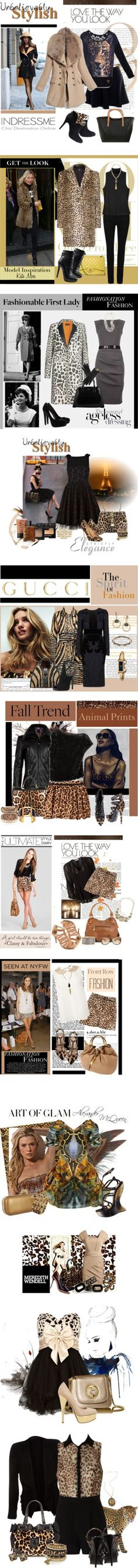 """Animal Print"" by elena-indolfi on Polyvore"
