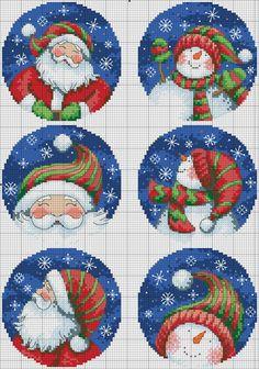 no count cross stitch kits Cross Stitch Christmas Ornaments, Xmas Cross Stitch, Christmas Cross, Cross Stitch Charts, Cross Stitching, Counted Cross Stitch Patterns, Cross Stitch Embroidery, Hand Embroidery, Snowman Ornaments