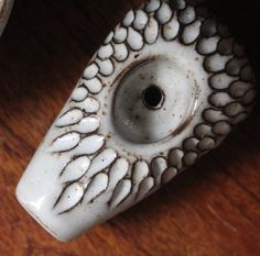 Carved Petal Pipe . . . #pottery #ceramics #boho  #jungalowstyle #sophisticatedsmoker #pipe #potterypipe #ceramic pipe #losangeles #california