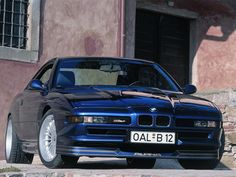 """5,7l V12, 416HP, from 0 to 100 in just 5,8s and a Top Speed of 300km/h. The amazing Alpina B12 5.7 E31 in 1992. #HistoricTuesday #bmw #alpina #b12 #v12…"""