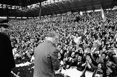 The Kop has the last word, as Liverpool clinch their league title in 1966 Best Football Team, Liverpool Football Club, Liverpool Fc, Bill Shankly, Liverpool History, You'll Never Walk Alone, Rotterdam, Worship, Concert