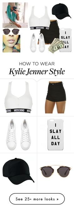 """_RELAX_"" by cryptic-sk8 on Polyvore featuring Wrangler, Moschino and Christian Dior"