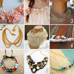 Necklace Collars ideas