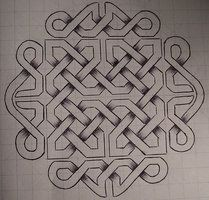 Lineart for a Celtic knotwork tattoo flash sheet I made back in micron pen on paper Lineart version is here: [link] To view the full set . Flash - Celtic Knots 1 Line Celtic Symbols, Celtic Art, Celtic Knots, Celtic Pride, Celtic Patterns, Cross Stitch Patterns, Celtic Quilt, Tattoo Flash Sheet, Graph Paper Art