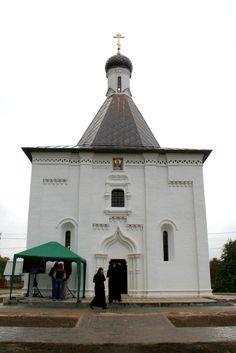 Освящение Ильинского храма в Пруссах Коломенского района