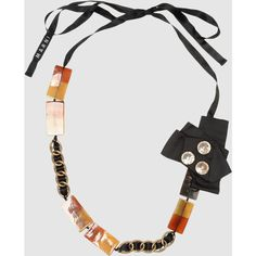 MARNI Necklace (€245) found on Polyvore