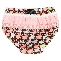 Parisienne Pink Bunny Bloomers - Oobi.com.au