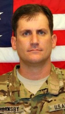 Army CWO. Brian D. Hornsby, 37, of Melbourne, Florida. Died August 16, 2012, serving during Operation Enduring Freedom. Assigned to 2nd Battalion, 25th Aviation Regiment, 25th Combat Aviation Brigade, 25th Infantry Division, Schofield Barracks, Hawaii. Died in Shah Wali Kot District, Kandahar Province, Afghanistan, when the helicopter he was in crashed while engaged in a firefight.