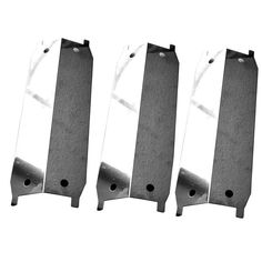 3 PACK STAILESS STEEL HEAT SHIELD FOR MAXFIRE 810-9212-S, 810-9213-S GAS GRILL MODEL Fits Compatible Maxfire Models : 810-9212-S, 810-9213-S