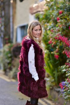 Cool faux fur gilet only 75 euro , available in vanilla boutique fermoy Faux Fur Gilet, A Boutique, Cork, Ireland, Vanilla, Fur Coat, Cool Stuff, Stylish, Jackets