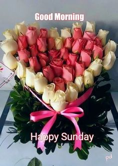 Happy sunday dear sister - have a beautiful day in the lord! Beautiful Rose Flowers, Romantic Roses, Beautiful Flowers, Good Morning Happy Sunday, Happy Sunday Quotes, Happy Sunday Flowers, Flowers For Valentines Day, Sunday Greetings, Flowers Online