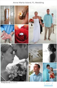 I love beach weddings. Get some ideas from this lovely beach wedding I shot in Florida. Florida Beach Wedding Photography