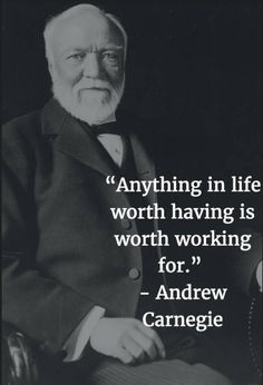 Get Off Work, Andrew Carnegie, Hustle Quotes, New Year New Me, Keep Pushing, Genius Quotes, Motivational Words, Some Words, Happy Monday