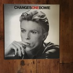 David Bowie  RCA 1976 ChangesOne Original Rare Vintage Music  Display Standee by RockPostersTreasures on Etsy