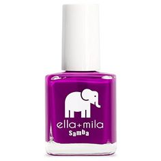 ellamila Nail Polish Samba Collection  Purple Reign -- You can find out more details at the link of the image.Note:It is affiliate link to Amazon.