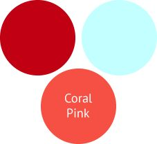 How To Wear Coral Pink For A Shaded Autumn (Deep Autumn)