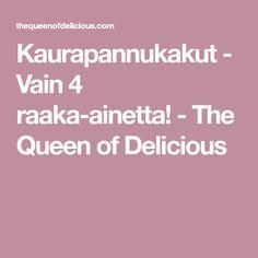 Kaurapannukakut - Vain 4 raaka-ainetta! - The Queen of Delicious