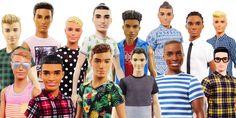 New Ken dolls.