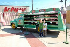 Dr. Pepper Museum ~ Waco, TX - R We There Yet Mom? | Family Travel for Texas and beyond...