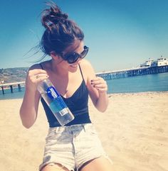 Maia on the beach