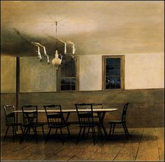 witching hour / andrew wyeth