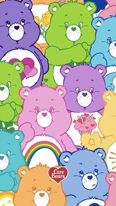 care bears are so cute uwu Bear Wallpaper, Kawaii Wallpaper, Pastel Wallpaper, Cute Wallpaper Backgrounds, Trendy Wallpaper, Wallpaper Iphone Cute, Aesthetic Iphone Wallpaper, Cool Wallpaper, Aesthetic Wallpapers