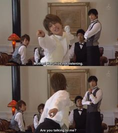 It's time for me to watch the live action version of Ouran High School Host Club. Looks hilarious!