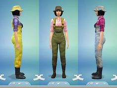 Mod The Sims - Fisherman Outfit - *FIXED!