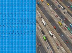 Layers of Time from an Aerial View - photo series by Katrin Korfmann