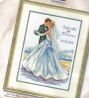 Gallery.ru / Фото #1 - ***** - celita Cross Stitch Samplers, Cross Stitch Patterns, Cross Stitch Family, Wedding Cross Stitch, Love You Images, Strand, Hand Stitching, Needlework, Gallery Wall