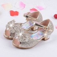 2017 Children Princess Sandals Kids Girls Wedding Shoes High Heels Dress Shoes Party Shoes For Girls Pink Blue Gold Gold Baby Shoes, Baby Boy Shoes, Girls Shoes, Girls Wedding Shoes, High Heels For Kids, Flower Girl Shoes, Princess Shoes, Princess Style, Baby Shoe Sizes