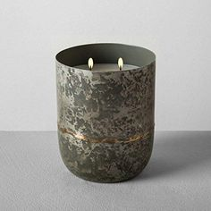 Hearth and Hand with Magnolia Galvanized Container Soy Candle 25oz Cedar Magnolia Joanna Gaines Collection Limited Edition #jarcandles