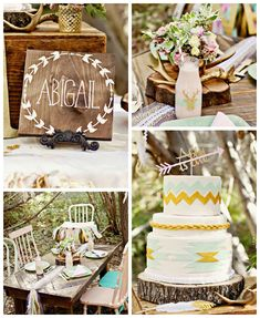 Dreamy Navajo 1st Birthday Party via Kara's Party Ideas KarasPartyIdeas.com | Cake, printables, tutorials, giveaways, and more! #dreamynavajoparty #dreamynavajoparty (2)
