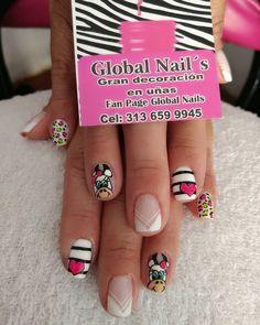 Manicure, Nails, Work Nails, Nail Manicure, Drawings, Nail Bar, Finger Nails, Ongles, Polish