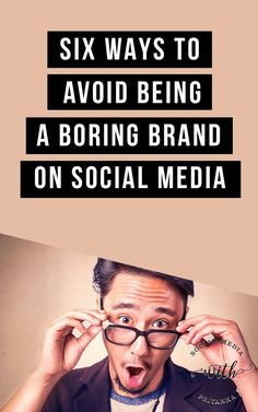 6 ways to avoid being a boring brand on social media. // Social Media with Priyanka // Bespoke Online Marketing Solutions and Social Media Consulting for Small Businesses and Solopreneurs