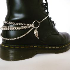 Cool boot chains from www.bootbooti.etsy.com to give your doc martens 9cbaf92e2f