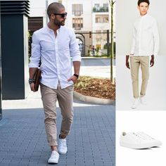 The Perfect Smart/Casual Combo | Shop the look now at The Idle Man | #StyleMadeEasy