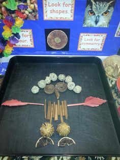 EYFS creative workshop: design made with natural materials LG