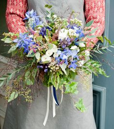 wild bridal bouquet