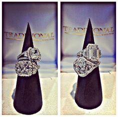 #Diamond #engagementrings on #traditionaljewelers #instagram