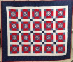 Quilt of Valor pieced and quilted by members of Quilt Guild by the Sea, Sept 2015