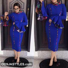 ankara pattern styles for ladies - {Od9ja Styles} - 55 most Beautiful Ankara Pattern Styles for Ladies