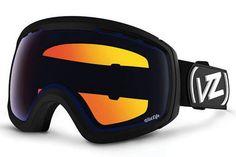 VonZipper - Feenom NLS Black Satin BLW Goggles, Wildlife Low Light Lenses