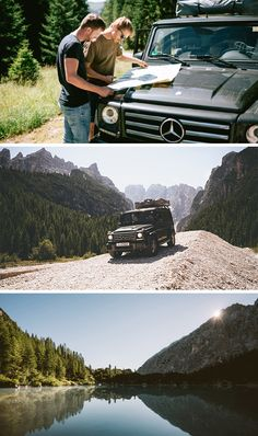 With the G-Class in the Dolomites. Offroad through snow-covered peaks, untamed valleys and endless miles of pasture. Photos by German Roamers (www.german-roamers.squarespace.com) #MBdolomates #MBphotopass